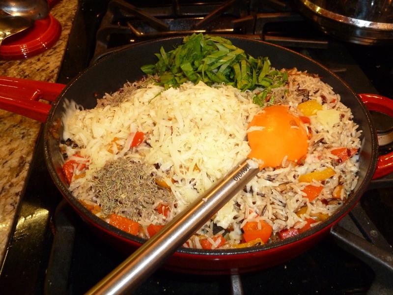Wild Rice Gratin 11-2013